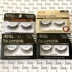 Ardell Double Demi, Remy, Faux Mink EyeLashes